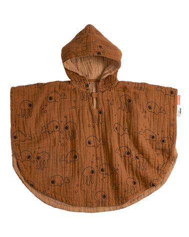 Bath hooded poncho