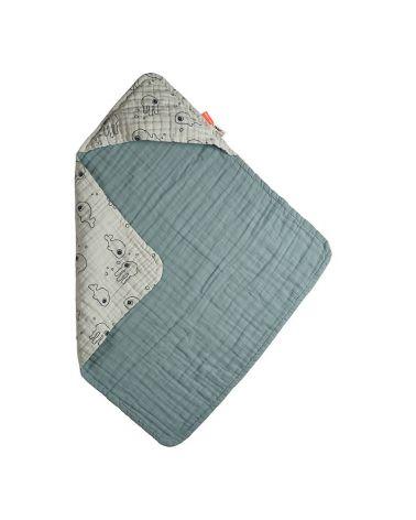 Hooded towel, 70x70cm, DONE by DEER