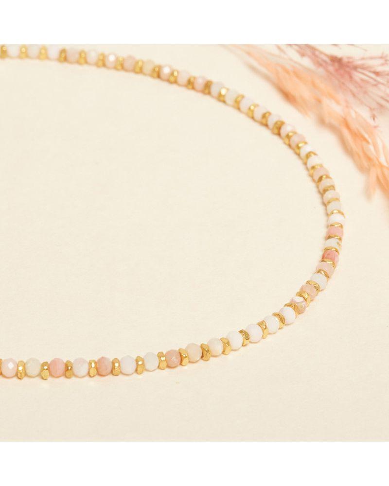 collier JAIPUR écrou BIG opale